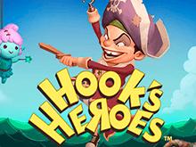 Герои Крюка с бонусами в Вулкан
