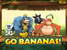 Раскрутить вращения в азартной игре Вперед Бананы!